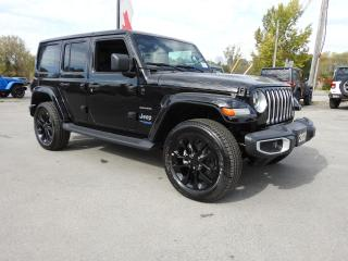 New 2021 Jeep Wrangler 4xe Unlimited Sahara 4xe for sale in Trenton, ON