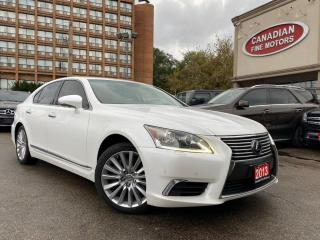 Used 2013 Lexus LS 460 CLEAN CARFAX | NAVI | CAM | ROOF | BSM | MINT CONDITION | for sale in Scarborough, ON