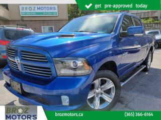 Used 2016 RAM 1500 4WD Crew Cab 140.5  Sport for sale in St. Catharines, ON