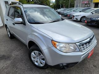 Used 2011 Subaru Forester X Convenience/AWD/CLEAN CARFAX/BT/POWER OPTS for sale in Scarborough, ON
