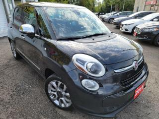 Used 2015 Fiat 500L Lounge/NAVI/CAMERA/LEATHER/ROOF/LOADED/ALLOYS for sale in Scarborough, ON