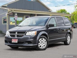 Used 2014 Dodge Grand Caravan SXT,ECON,STOW-N-GO,B.TOOTH,DUAL CLIMATE for sale in Orillia, ON