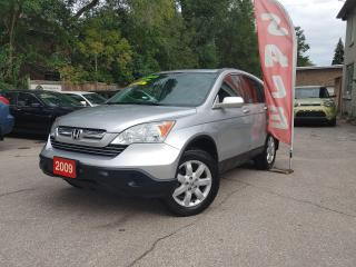 Used 2009 Honda CR-V EX-L~ACCIDENT FREE~SUNROOF~LEATHER~CERTIFIED for sale in Mississauga, ON