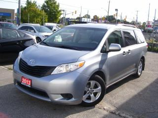 Used 2013 Toyota Sienna CE,CERTIFIED,NO ACCIDENT,7 PASSENGERS,NONE SMOKER for sale in Kitchener, ON