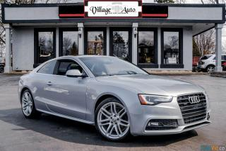 Used 2017 Audi A5 Progressiv S-LINE for sale in Ancaster, ON