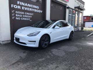 Used 2020 Tesla Model 3 STANDARD RANGE PLUS AUTO PILOT AUTOSTEER for sale in Abbotsford, BC