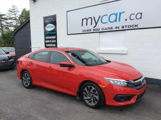 Used 2017 Honda Civic EX SUNROOF, PWR HEATED SEAT, ALLOYS, BACKUP CAM!! for sale in Kingston, ON