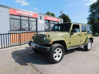 Used 2013 Jeep Wrangler Sahara|Leather|4x4|Unlimited for sale in St. Thomas, ON