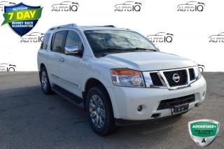 Used 2015 Nissan Armada Platinum REAR ENTERTAINMENT for sale in Grimsby, ON