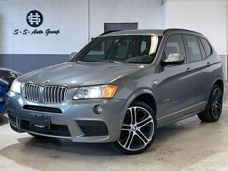 Used 2014 BMW X3 35i M SPORT NAV BACK UP PANO ROOF ACCIDENT FREE  for sale in Oakville, ON