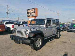 Used 2008 Jeep Wrangler X*UNLIMITED*A/C*4 DOOR*HARD TOP*4X4*CERT for sale in London, ON