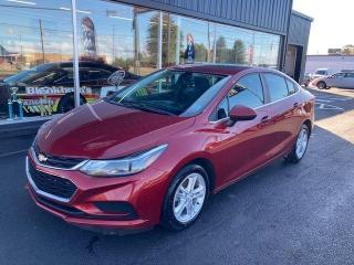 Used 2017 Chevrolet Cruze LT, sunroof, remote start, alloys for sale in Truro, NS
