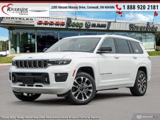 New 2021 Jeep Grand Cherokee L Overland for sale in Cornwall, ON