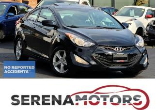 Used 2013 Hyundai Elantra Coupe COUPE | GLS | MANUAL | SUNROOF | NO ACCIDENTS for sale in Mississauga, ON