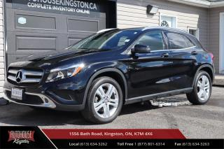 Used 2016 Mercedes-Benz GLA CLEAN CARFAX - NAVIGATION READY - LUXURY LEATHER for sale in Kingston, ON