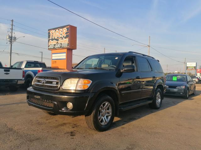 2003 Toyota Sequoia Limited*LEATHER*DVD*8 PASS*WELL MAINTAINED*4.7L V8
