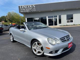 Used 2009 Mercedes-Benz CLK 3.5L for sale in Beamsville, ON