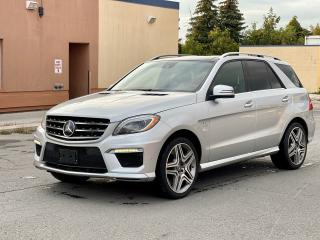 Used 2012 Mercedes-Benz M-Class ML 63 AMG Navigation/Panoramic Sunroof/Camera for sale in North York, ON