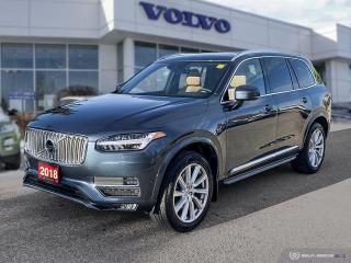 Used 2018 Volvo XC90 Inscription Local! Lease Return! for sale in Winnipeg, MB