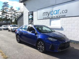 Used 2017 Toyota Corolla XSE LEATHER, SUNROOF, HEATED SEATS, ALLOYS!! LOW KM!! for sale in Richmond, ON