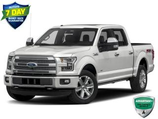 Used 2016 Ford F-150 Platinum | CLEAN CARFAX | ALLOYS | TRAILER TOW PKG | REMOTE START | for sale in Barrie, ON