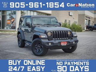 Used 2019 Jeep Wrangler Sport 4x4| SOLD| SOLD| SOLD| SOLD| for sale in Burlington, ON