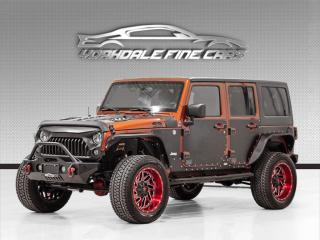 Used 2014 Jeep Wrangler Unlimited 4WD 4dr Sahara *TONS OF UPGRADES* MUST SEE! for sale in Concord, ON