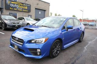 Used 2016 Subaru WRX LIMITED /MANUAL /AWD /SUNROOF /BACKUP CAMERA for sale in Newmarket, ON