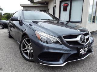 Used 2016 Mercedes-Benz E-Class E400 4MATIC Coupe - NAV! 360 CAM! BSM! H/K SOUND! DISTRONIC! MASSAGE SEATS! for sale in Kitchener, ON