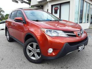 Used 2015 Toyota RAV4 XLE AWD - NAV! BACK-UP CAM! SUNROOF! for sale in Kitchener, ON