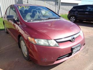Used 2008 Honda Civic Sdn DX-G (WHOLESALE) for sale in Charlottetown, PE
