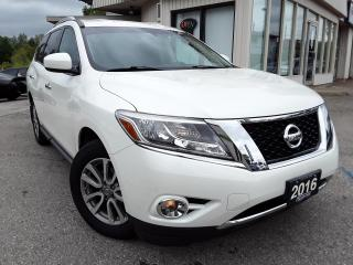 Used 2016 Nissan Pathfinder SV 4WD - BACK-UP CAM! HEATED SEATS! 7 PASS! for sale in Kitchener, ON