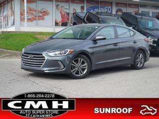 Used 2018 Hyundai Elantra GL SE  CAM BLIND-SPOT ROOF HTD-S/W 16-AL for sale in St. Catharines, ON
