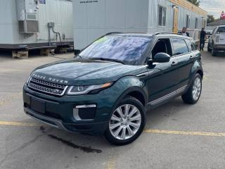 Used 2016 Land Rover Evoque SE #Panoramic roof #Touch Screen for sale in Brandon, MB