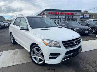 Used 2015 Mercedes-Benz ML-Class ML350 BlueTEC for sale in Oakville, ON