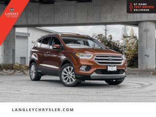 Used 2017 Ford Escape Titanium  Navi/ Backup Cam/ Leather/ Pano-Sunroof for sale in Surrey, BC