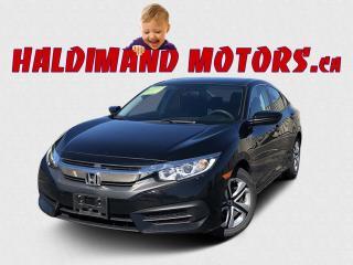 Used 2016 Honda Civic LX Sedan CVT for sale in Cayuga, ON