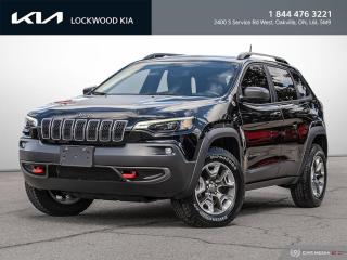 Used 2019 Jeep Cherokee Trailhawk Elite 4x4 - PANO ROOF   NAPPA LEATHER for sale in Oakville, ON
