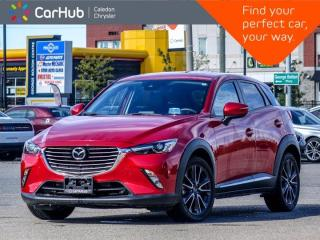 Used 2018 Mazda CX-3 GT 7 Navigation Sunroof Backup Camera Bluetooth Leather Heated Front Seats 17