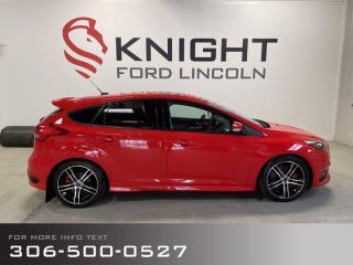 Used 2016 Ford Focus ST, Rare, local trade, sporty! for sale in Moose Jaw, SK