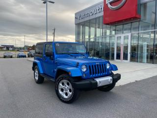 Used 2015 Jeep Wrangler SAHARA 3.6L for sale in Yarmouth, NS