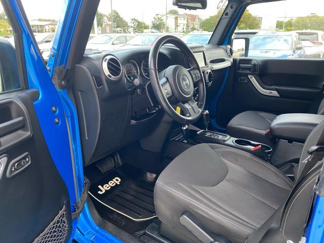 2015 Jeep WRANGLER 4WD 4DR SAHARA 3.6L