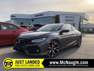 Used 2017 Honda Civic COUPE Si   Heated Seats   Navigation for sale in Winnipeg, MB