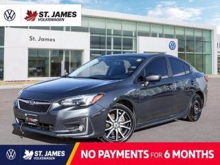 Used 2018 Subaru Impreza Sport, CLEAN CARFAX, APPLE CARPLAY, POWER SUNROOF for sale in Winnipeg, MB