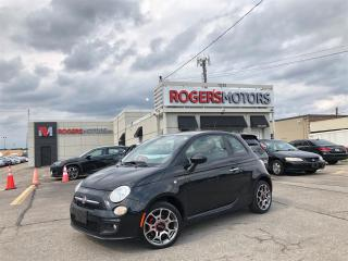 Used 2013 Fiat 500 SPORT - SUNROOF - LEATHER - HTD SEATS for sale in Oakville, ON