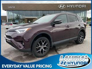 Used 2018 Toyota RAV4 SE 2.5L AWD - LOW KMS for sale in Port Hope, ON