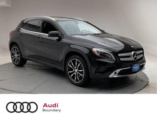 Used 2015 Mercedes-Benz GLA 250 W4 4MATIC SUV for sale in Burnaby, BC