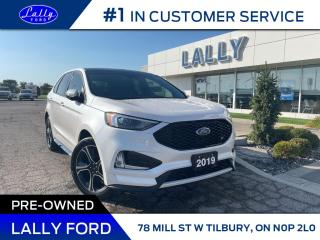 Used 2019 Ford Edge ST, One Owner, Local Trade!! for sale in Tilbury, ON