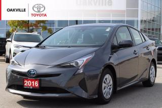 Used 2016 Toyota Prius Toyota Certified with Low Kilometers for sale in Oakville, ON