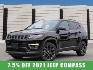 New 2021 Jeep Compass 80th Anniversary 4x4 for sale in Winnipeg, MB